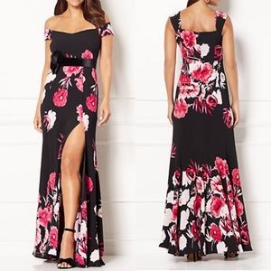 Tropical Flared Maxi NWT by Eva Menedez for NY&Co